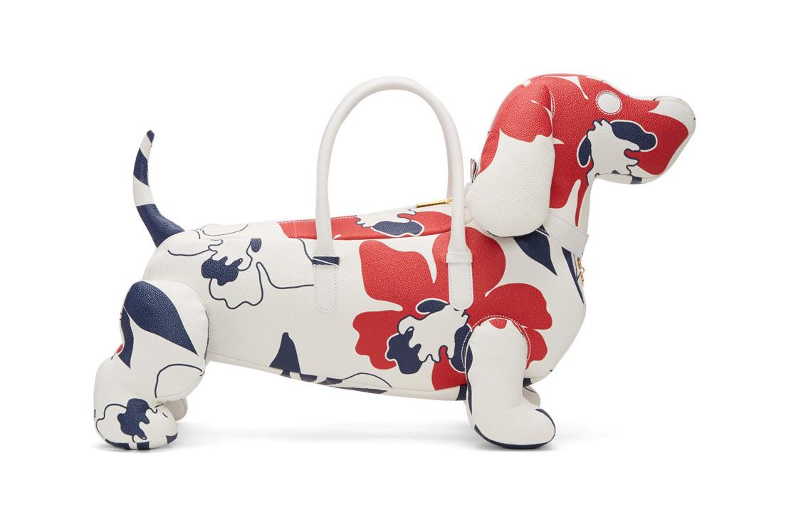 Том Браун отдает дань своему псу новой яркой сумкой
