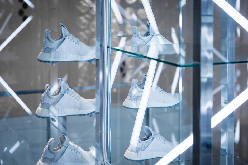 Взгляд за кулисы представления Titolo и adidas NMD XR1 Trail «Celestial» в Цюрихе