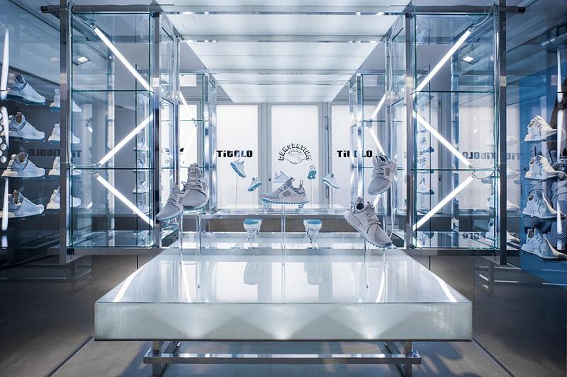 "Взгляд за кулисы представления Titolo и adidas NMD XR1 Trail ""Celestial"" в Цюрихе"