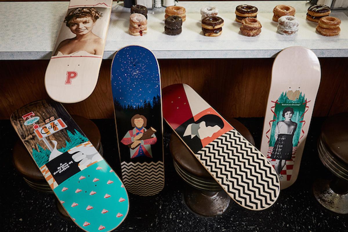 Дэвид Линч занялся дизайном скейтбордов