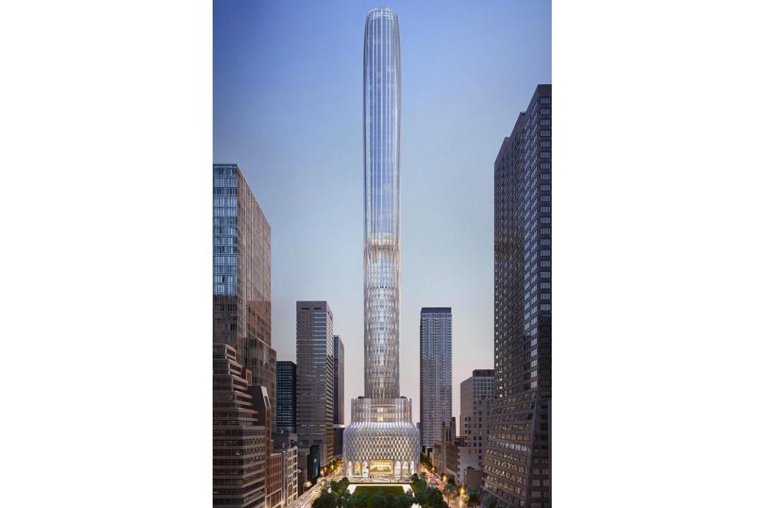 Архитектурное бюро Захи Хадид представляет новый небоскреб на Пятой Авеню