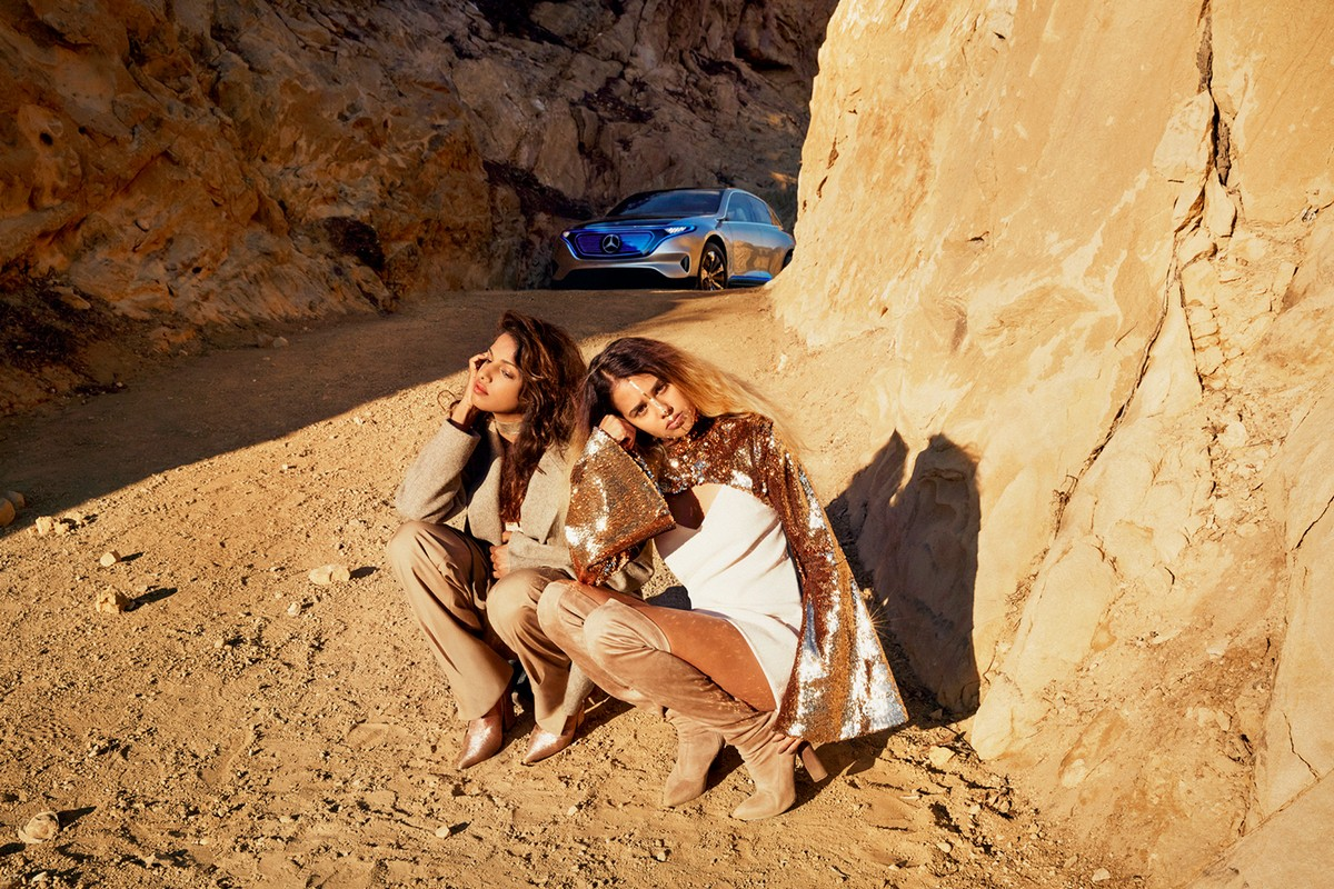 Звездами нового промо от Mercedes-Benz стали M.I.A. и Томми Генесис