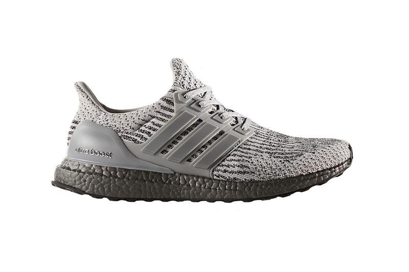 "adidas продолжает цветовую линейку ""Triple"" с новыми ""Triple Grey"" UltraBOOST 3.0"