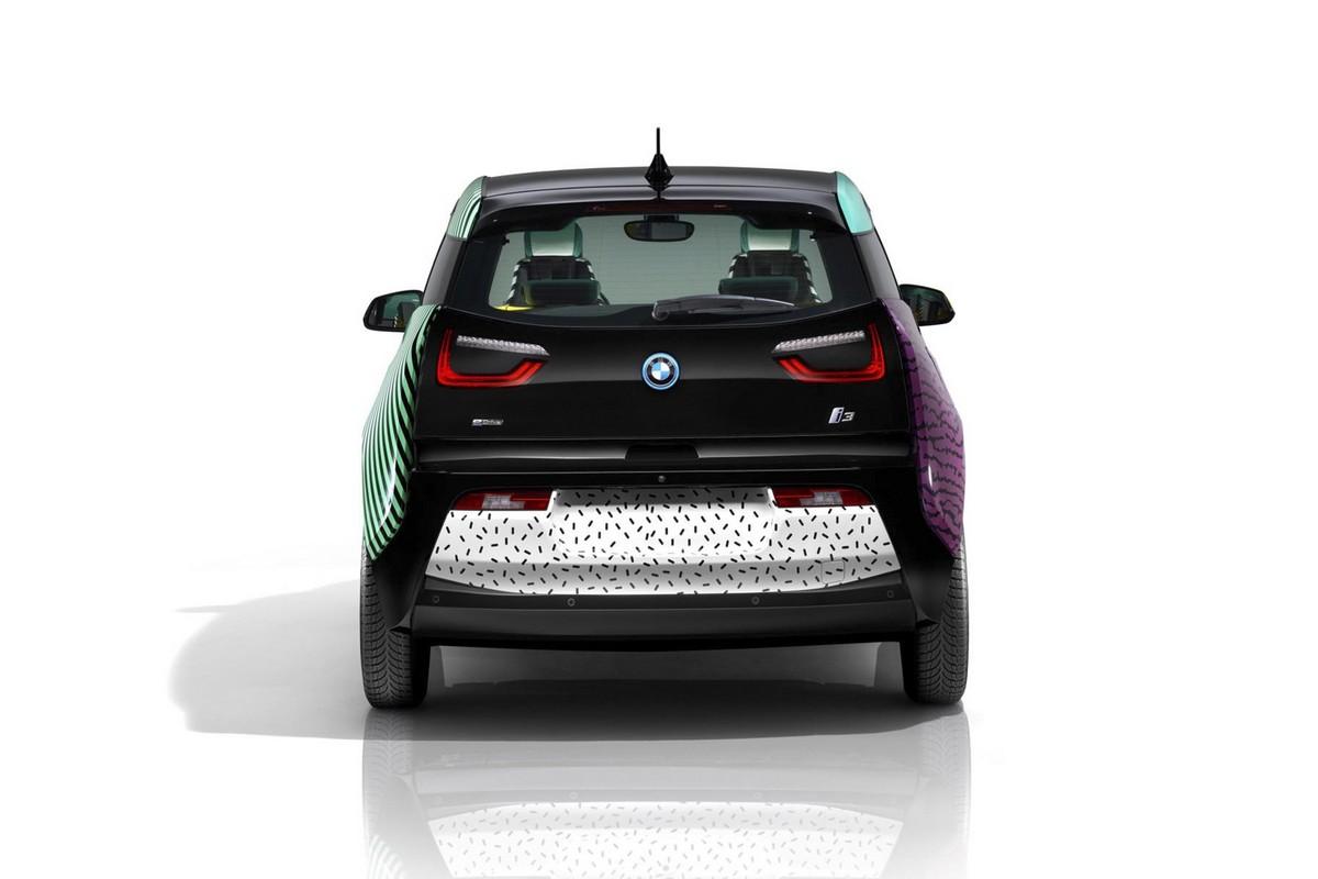 Автомобили BMW i получат стилизацию под 80е, вдохновившись Memphis Design Group