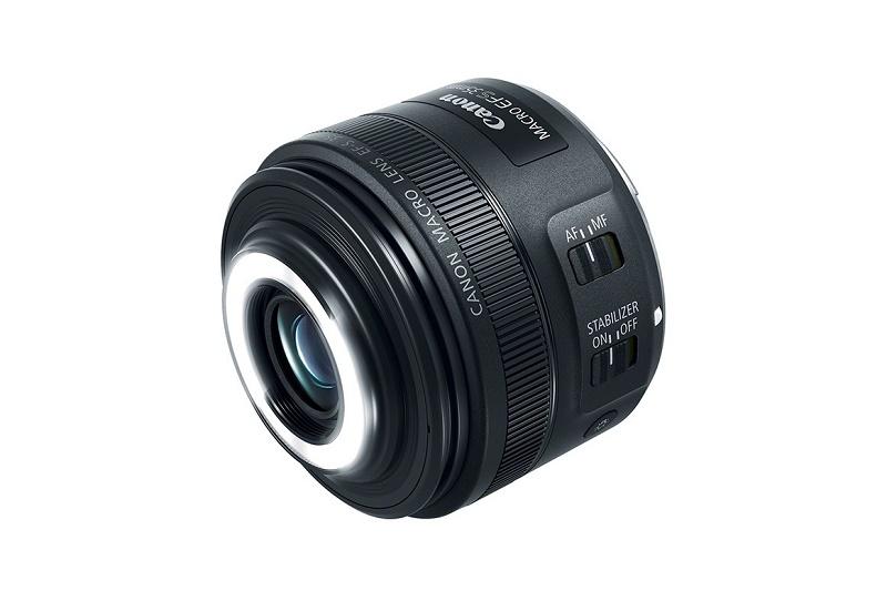 Canon представила макрообъектив с автофокусировкой и встроенной подсветкой