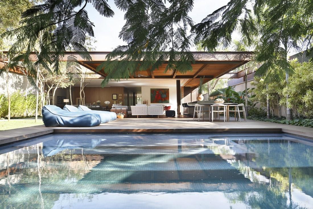 Дом архитектора в Бразилии