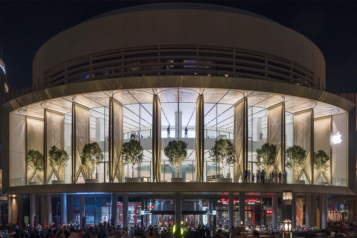 Новый магазин Apple в Дубае