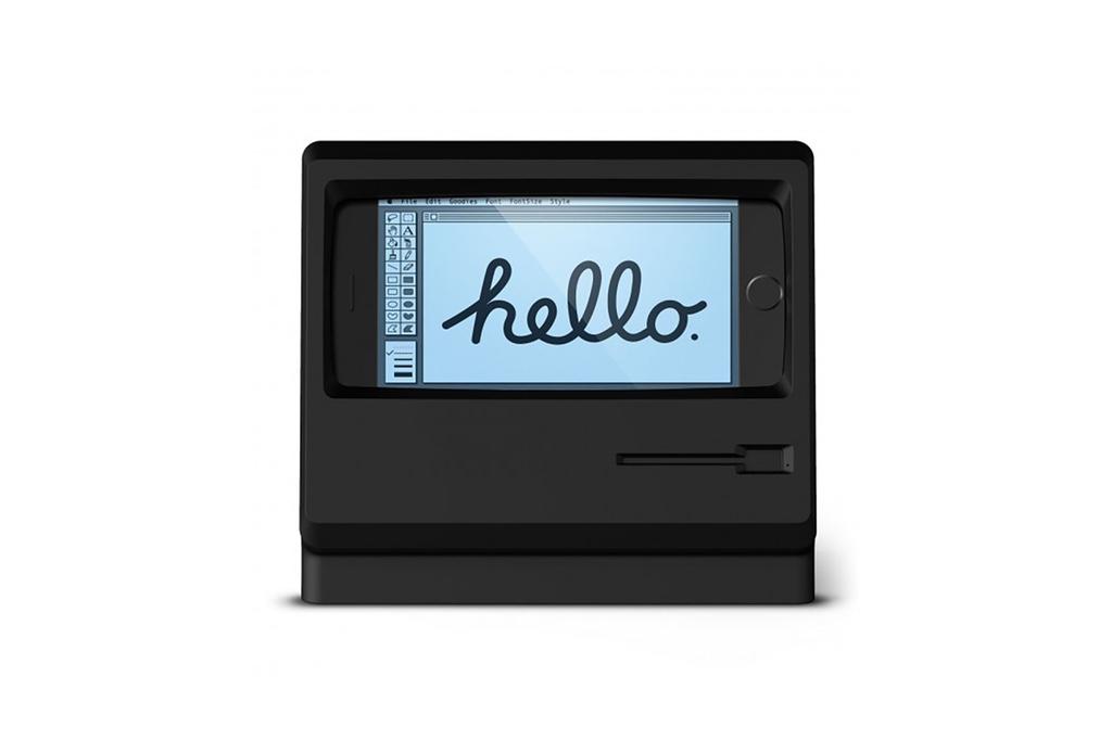 Аксессуар Elago M4 превращает iPhone в экран Macintosh