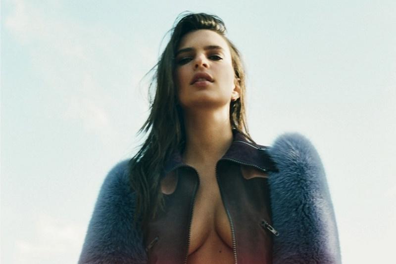 Эмили Ратажковски для обложки 'L'Officiel Paris'