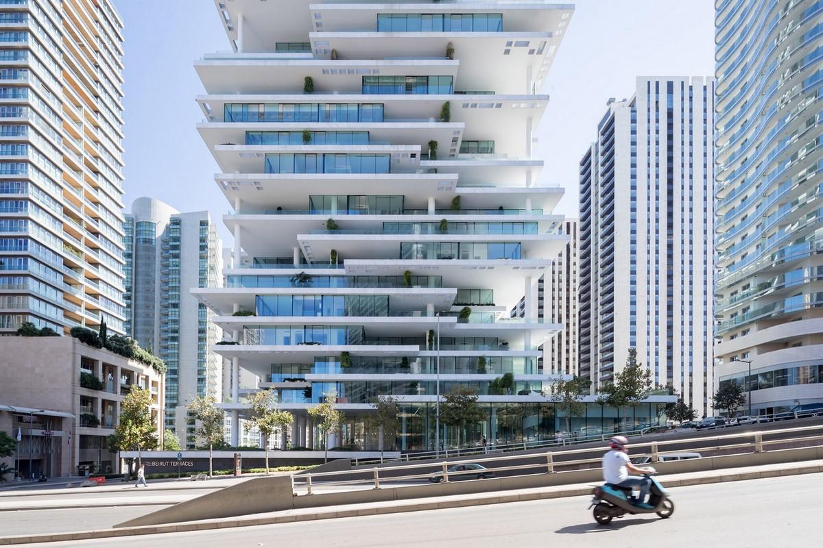Потрясающая башня в Бейруте от студии Herzog & de Meuron