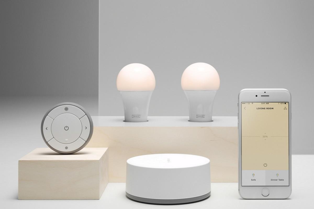 IKEA выпускает новую серию «умного» освещения