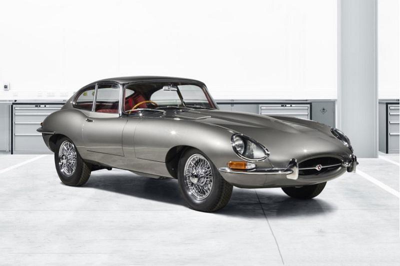 Отделение Jaguar Classic отреставрировало купе E-type