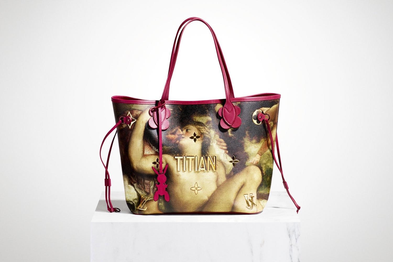 Художник Джефф Кунс создал коллекцию аксессуаров для Louis Vuitton