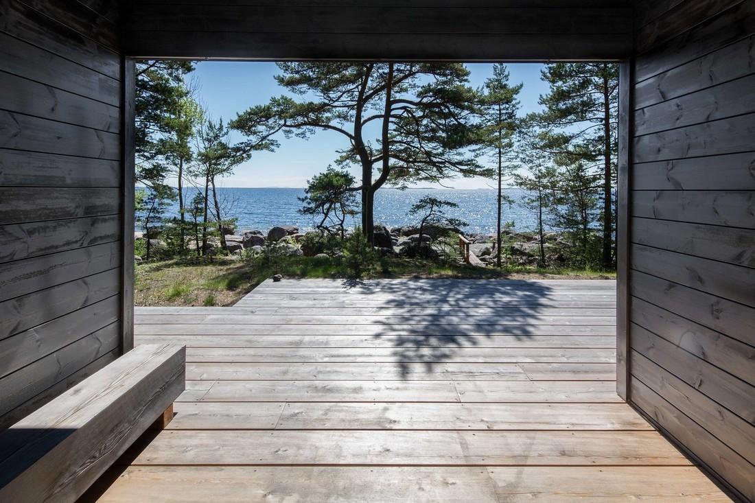 Летний дом на частном острове в Балтийском море