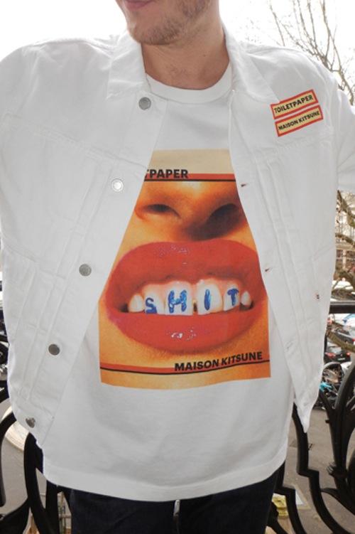 Лимитированная коллекция от Maison Kitsuné и TOILETPAPER