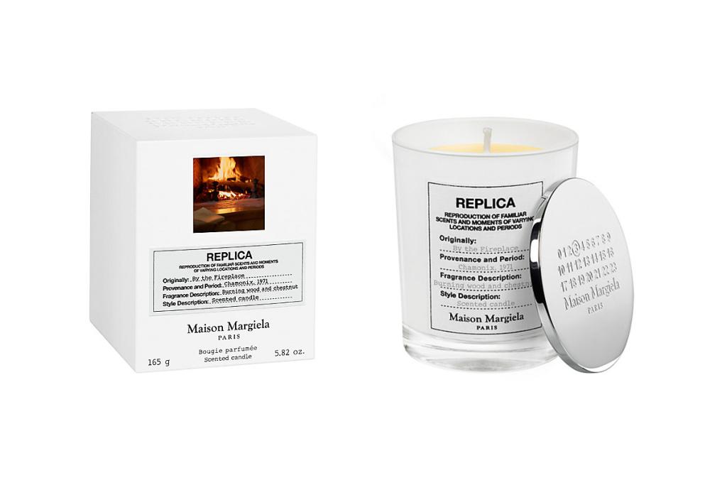 Maison Margiela представляет уникальную интерьерную свечу с ароматом… камина