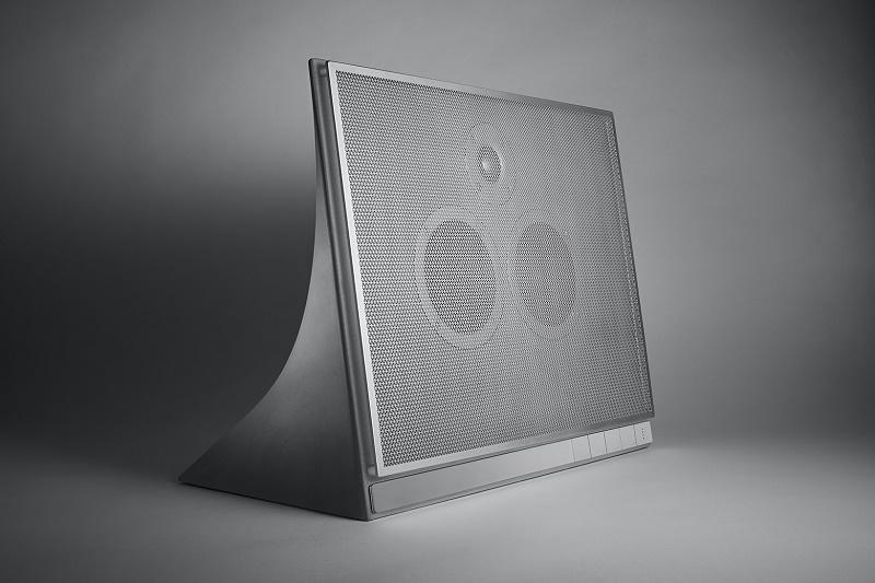 Master & Dynamic сделал аудиоколонку из бетона