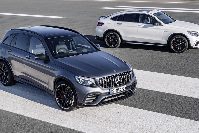 Mercedes-AMG GLC 63 дебютирует в Нью-Йорке