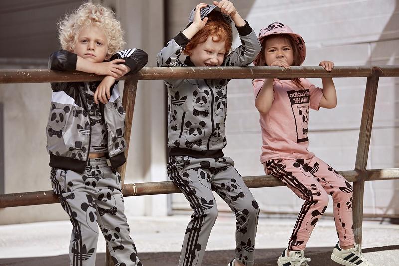 Mini Rodini и adidas Originals представили свою третью совместную коллекцию