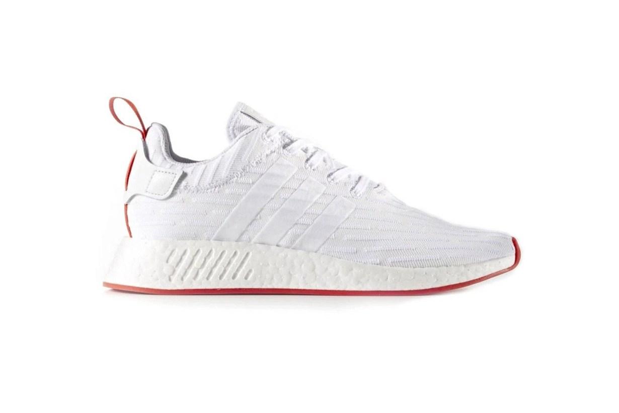 adidas NMD_R2 в цветовом стиле Understated White Red поступят в продажу в этот уик-энд
