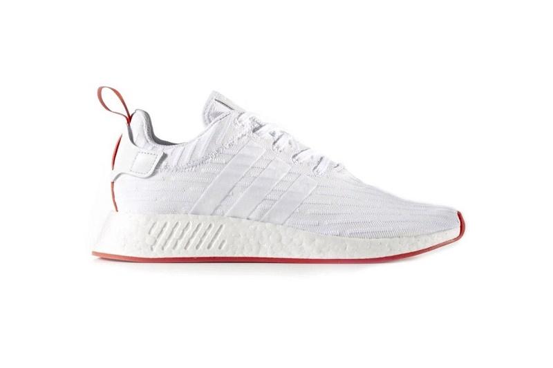 adidas NMD_R2 в цветовом стиле Understated White Red поступят в продажу в следующий уик-енд