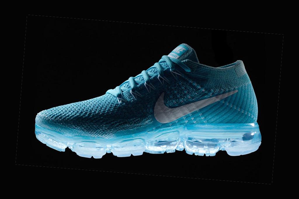 Nike VaporMax появятся в новой расцветке «Blue Orbit»