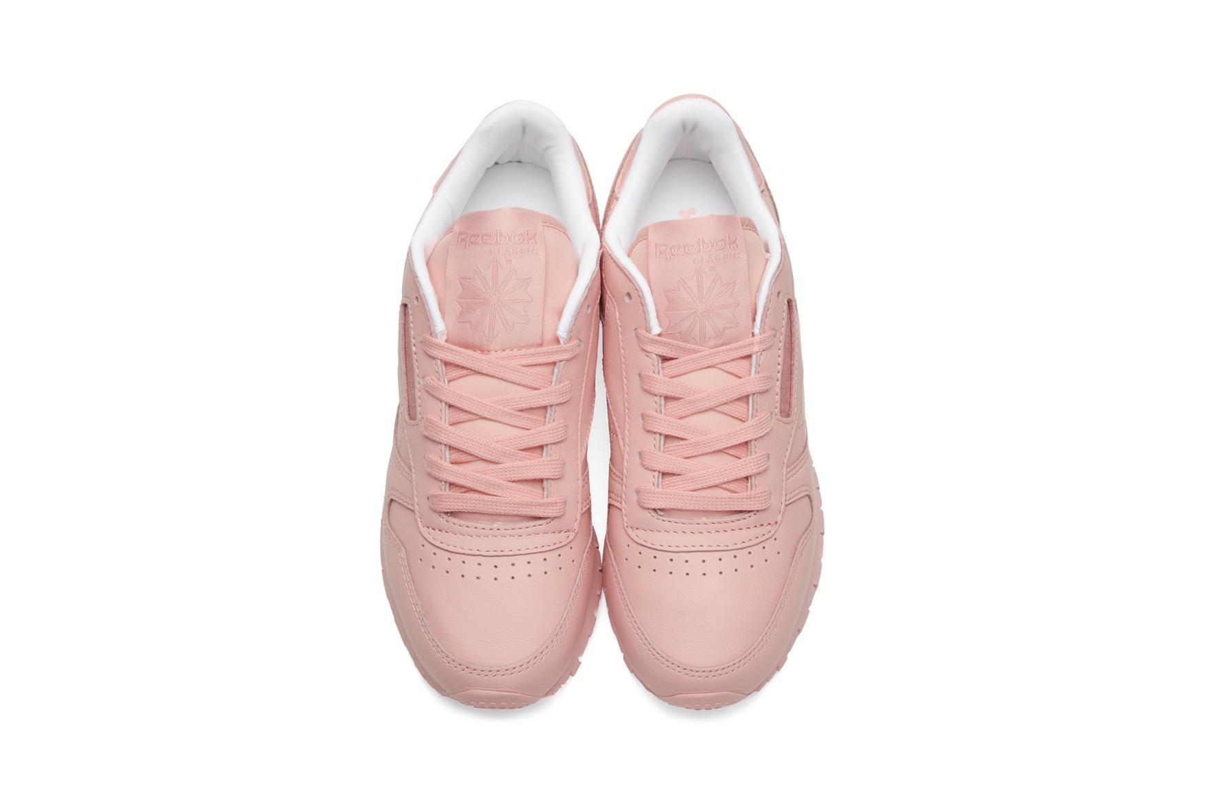 Новая модель кроссовок Reebok Classic Leather — это просто розовая мечта