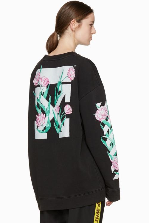 Настоящее цветение в новой коллекции OFF-WHITE на SSENSE