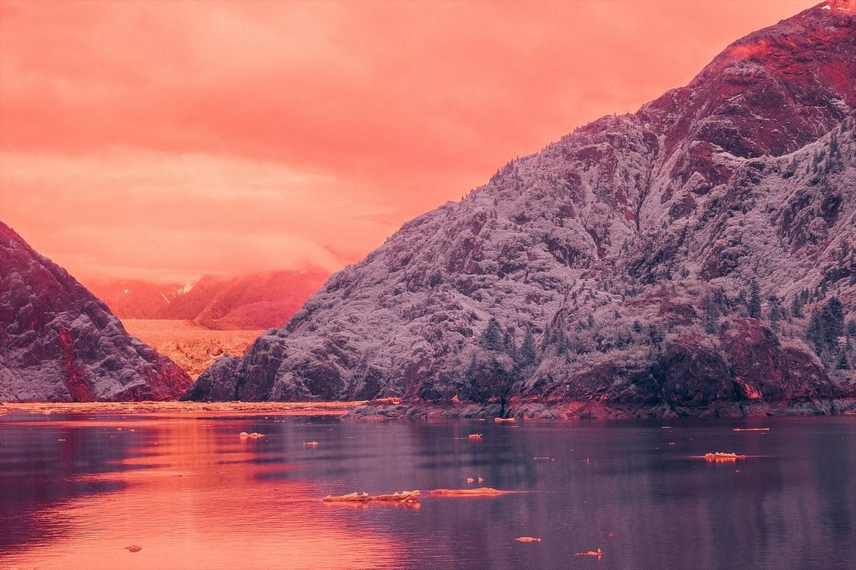 Потрясающие фотографии фьорда Tracy Arm на Аляске