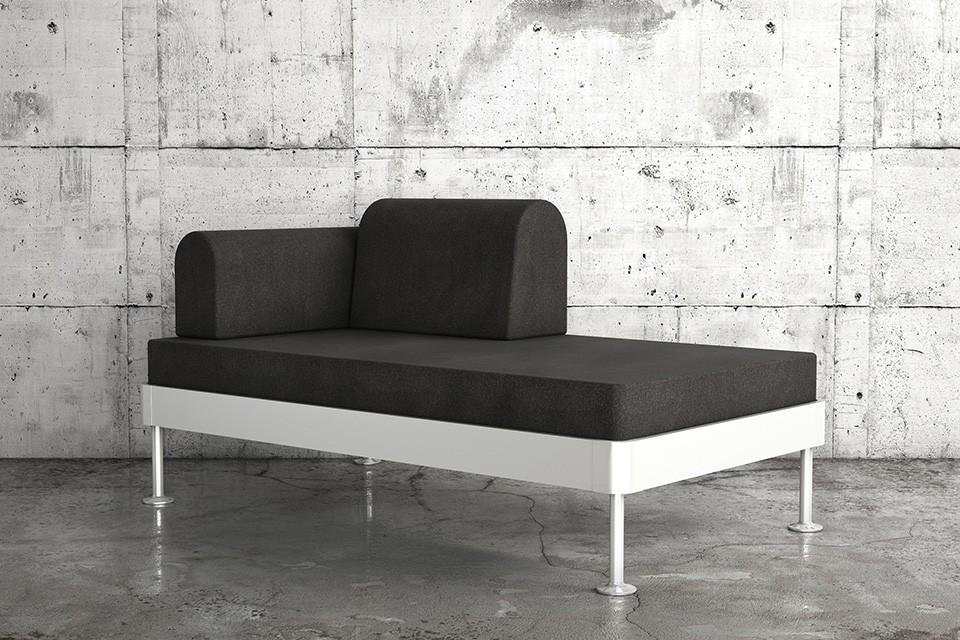 Том Диксон создал для IKEA диван-кровать со «взламываемой» алюминиевой рамой