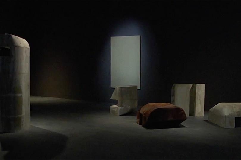 За кулисами мебельной выставки Рика Оуэнса
