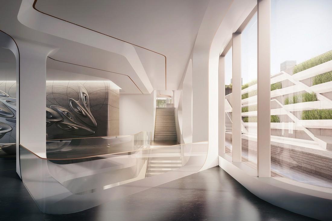 Первый взгляд на резиденцию Заха Хадид в Нью-Йорке