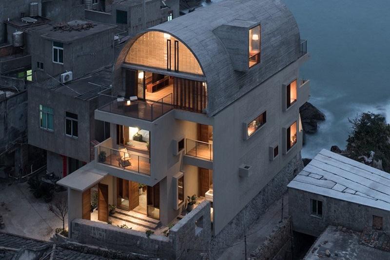 Vector Architects добавит круглую крышу для Captain's House в Китайском порту