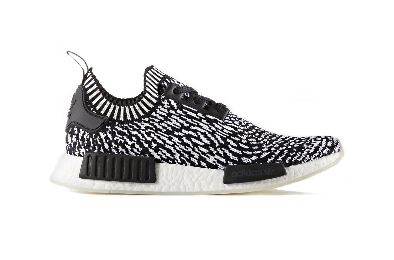adidas представляет новую модель NMD R1 Primeknit «Zebra»