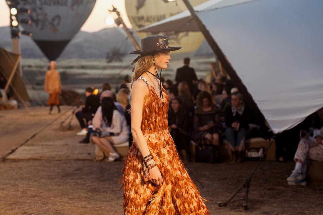 Американская коллекция Dior Cruise 2018