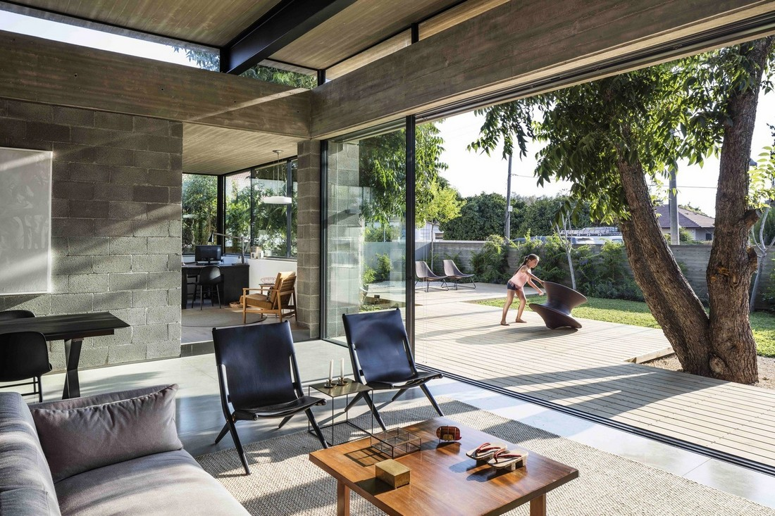 Дом семьи архитекторов в Израиле