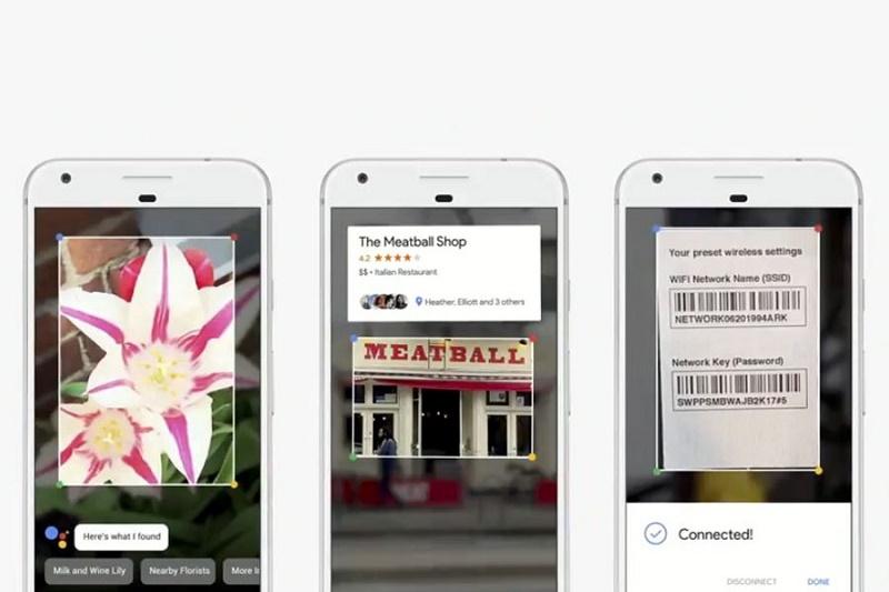 Google Lens распознает объекты реального мира