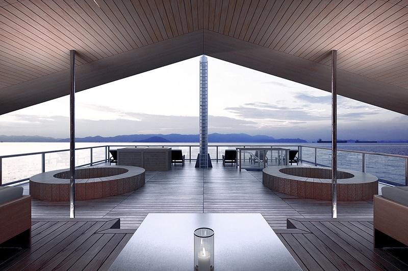 Восточная роскошь: в Японии запустили пятизвездный отель GUNTU