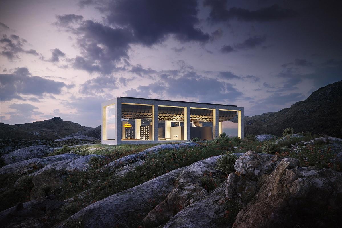 Дом Infinity House в Северной Норвегии – единение с природой
