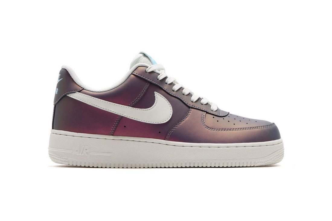 Радужные Air Force 1 от Nike