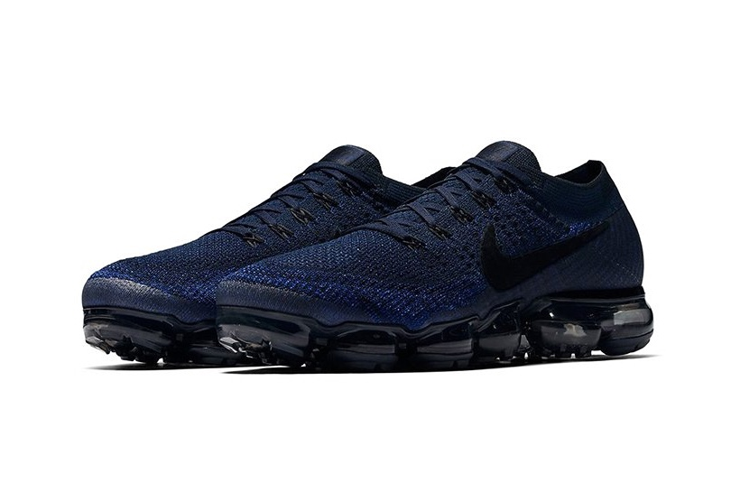 Крупным планом: Nike Air VaporMax «College Navy»