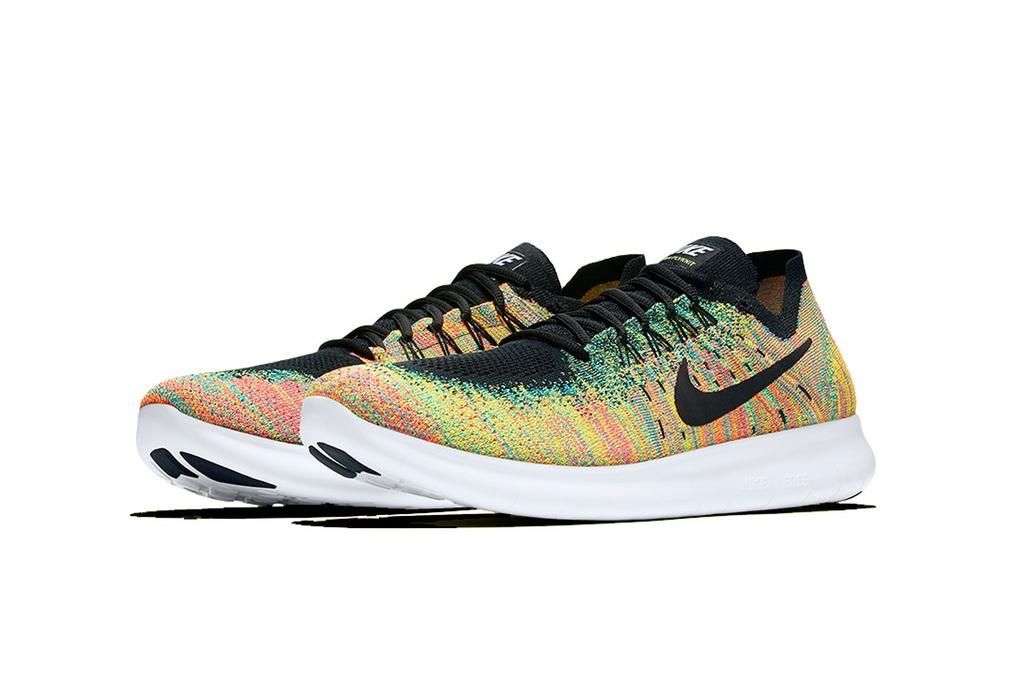 Кроссовки Nike Free RN Flyknit 2017 «Multicolor»
