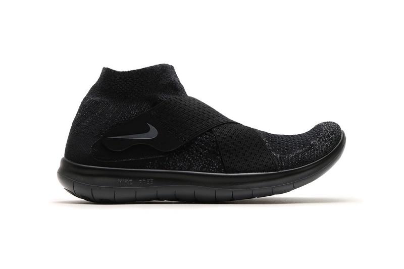 Nike «очернил» модель 2017 года Free RN Motion Flyknit