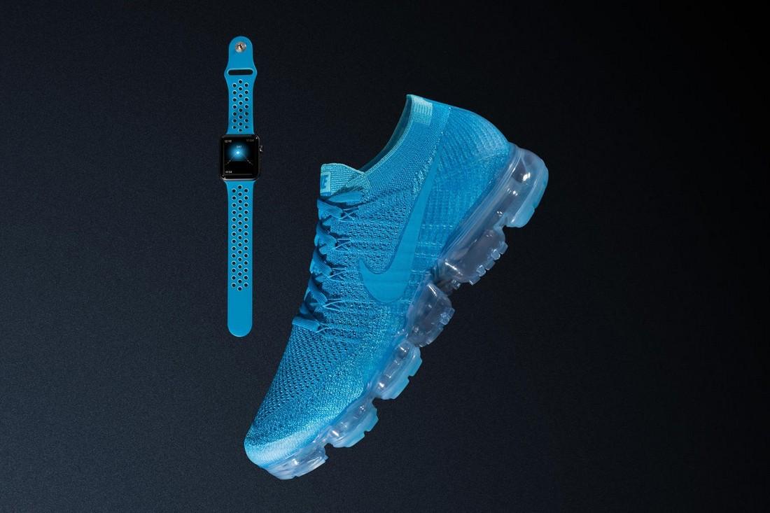 Nike x Apple Watch отлично сочетаются с набором Air VaporMax «Day to Night»