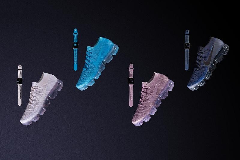 "Nike x Apple Watch отлично сочетаются с набором Air VaporMax ""Day to Night"""
