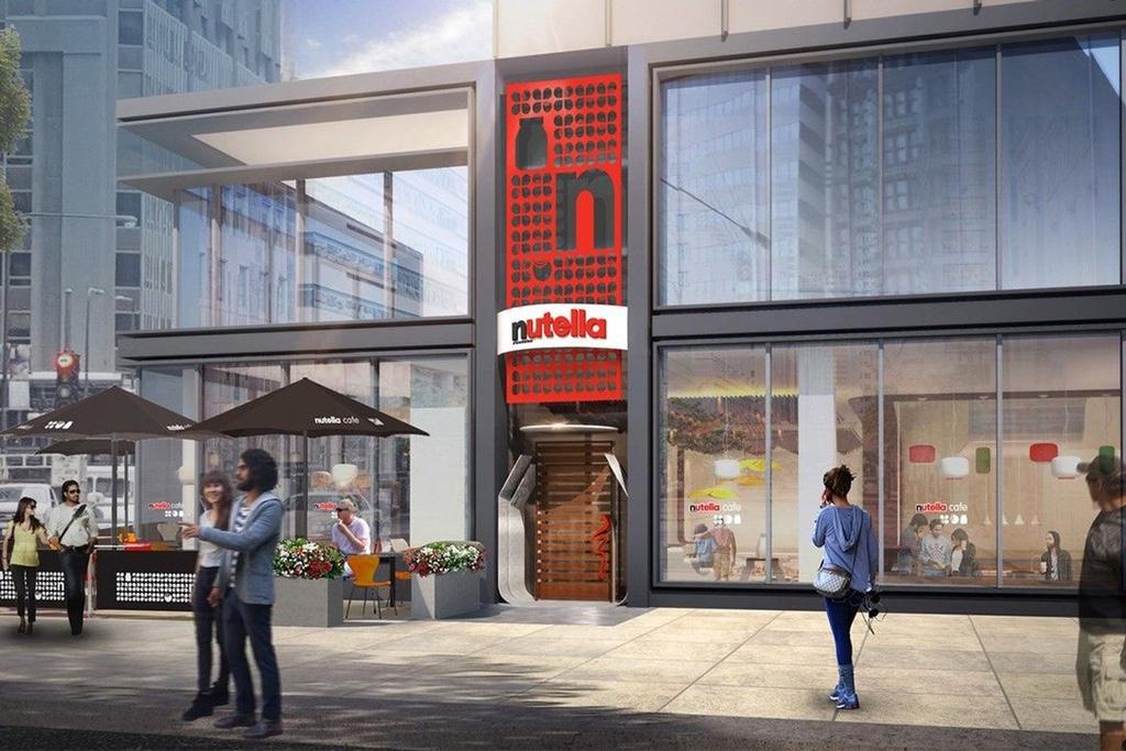 Nutella собирается открывать собственное кафе в Чикаго