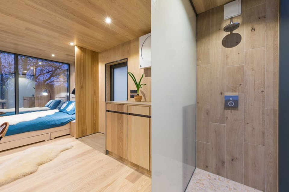 Минималистичный дом от эстонских архитекторов из ÖÖD идеален для отдыха