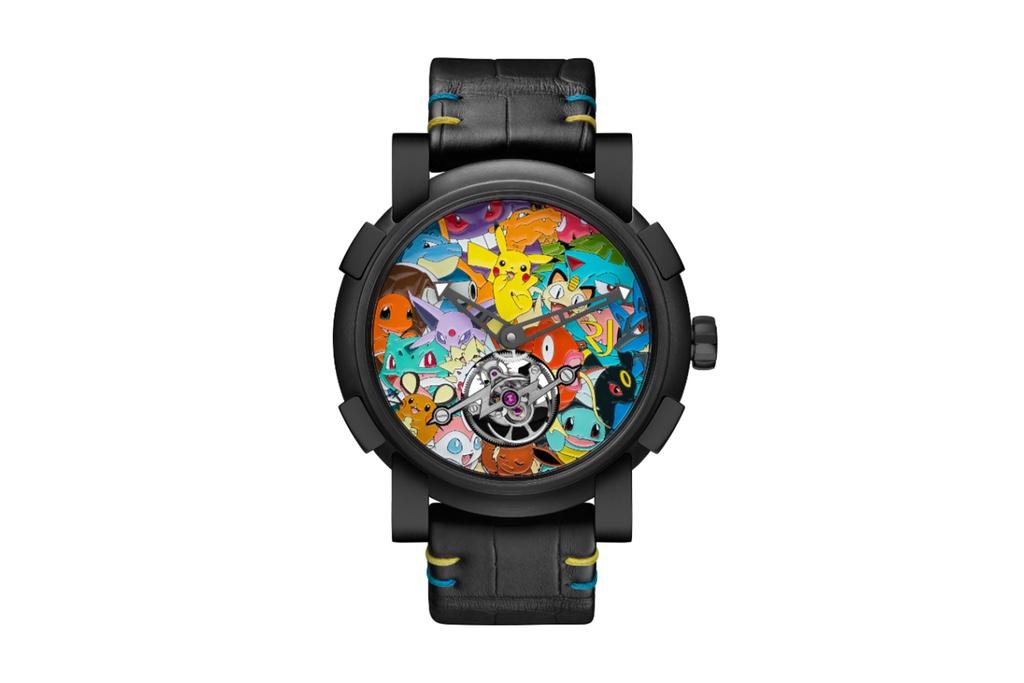 Новые часы Pokémon от RJ-Romain Jerome обойдутся вам в $258,000