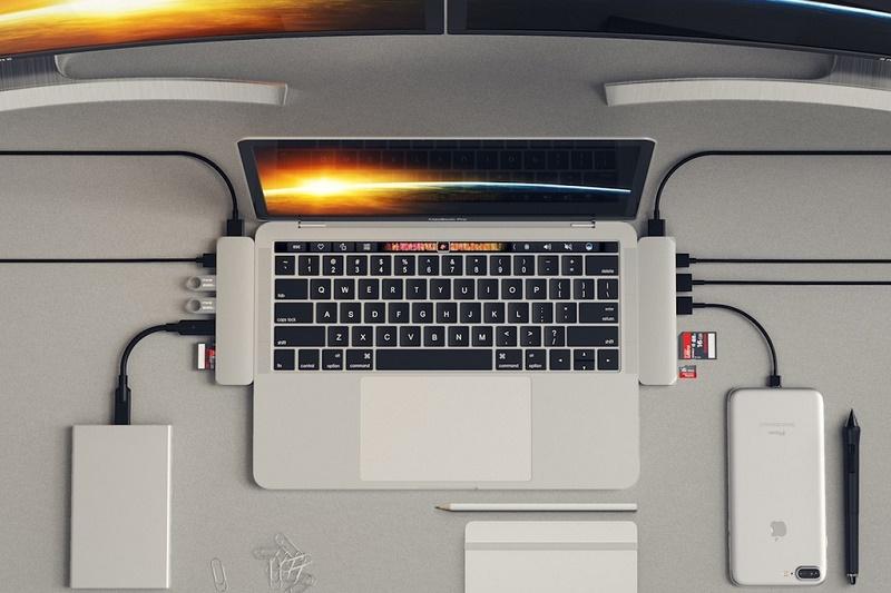 Satechi выпустила хаб для MacBook Pro 2016