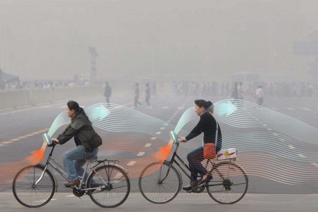 Велосипеды, борющиеся с загрязнением воздуха